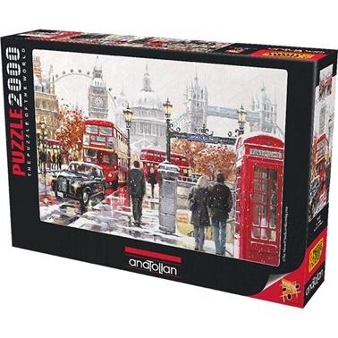 Anatolian  Puzzle 2000 Parça London 3937 Renkli